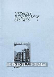 Utrecht Renaissance studies 1