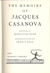 The memoirs of Jacques Casanova