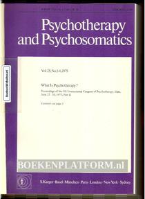 Psychotherapy and Psychosomatics 1975