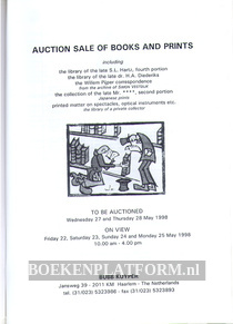 Auction Sale of Books and Prints 1998