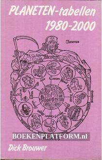 Planetentabellen 1980-2000