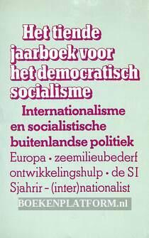 Het tiende jaarboek voor het democratisch socialisme