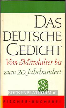 Das Deutsche Gedicht