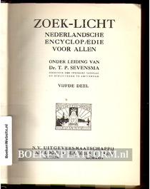 Zoek-licht Nederlandsche encyclopaedie voor Allen 5