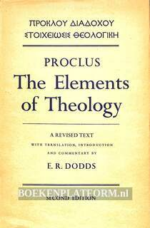 Proclus The Elements of Theology