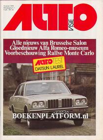 Autovisie 1978 Complete jaargang