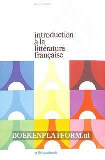 Introduction a la litterature francaise