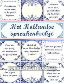 Het Hollandse spreukenboekje