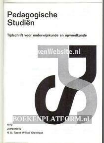 Pedagogische Studien jaargang 50