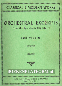 Orchestral Excerpts from the Symphonic Repertoire