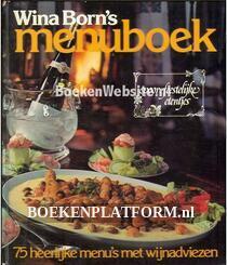 Wina Born's menuboek