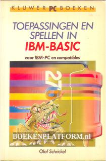 Toepassingen en spellen in IBM BASIC