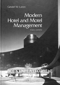Modern Hotel and Motel Management
