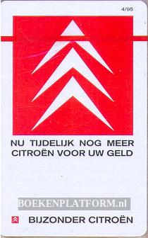 10 telefoonkaarten, bijzonder Citroen geseald