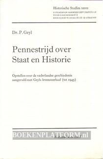 Pennestrijd over Staat en Historie