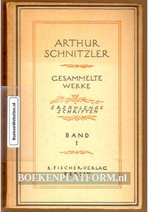 Arthur Schnitzler, gesammelte Werke Band 1