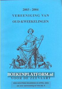 Jaarboekje van de Kweekschool voor de Zeevaart 2004