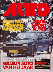 Autovisie 1982 Complete jaargang