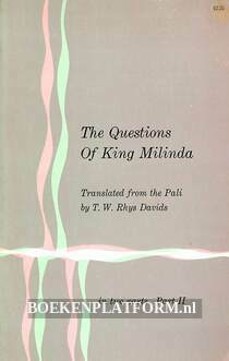 The Questions Of King Milinda II