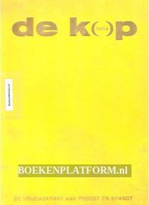 De Kop 1962 De vrijdagkrant van Proost en Brandt