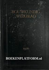 Bouwkundig Weekblad 1926