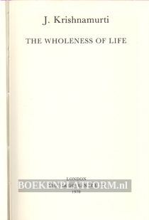 The Wholesness of Life