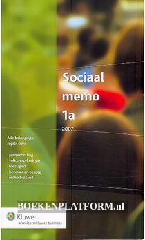 Sociaal memo 1a