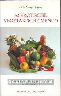 52 exotische vegetarische menu's