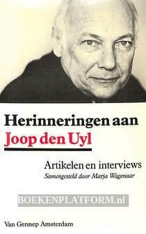 Herinneringen aan Joop den Uyl