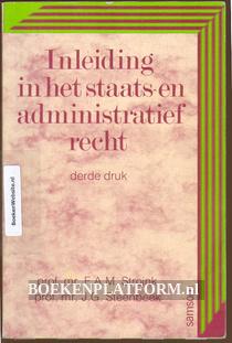 Inleiding in het staats- en adminstratief recht
