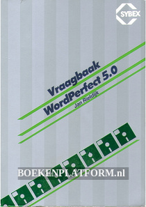Vraagbaak WordPerfect 5.0