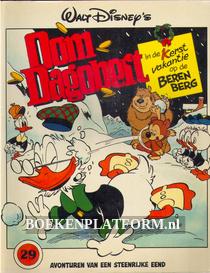 Oom Dagobert in 'Kerstvakantie op de Berenberg'