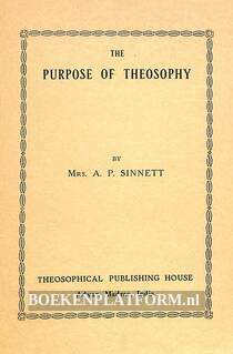 The Purpose of Theosophy