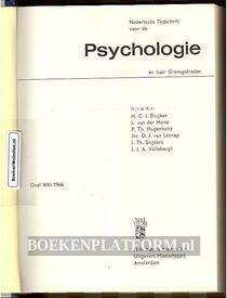 Nederlands tijdschrift voor de Psychologie 1966