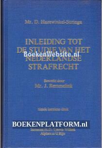 Inleiding tot de studie van het Nederlands strafrecht