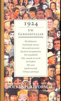 1924 Uw geboortejaar