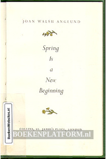 Spring Is a New Beginning