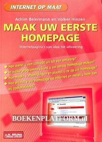 Maak uw eerste Homepage