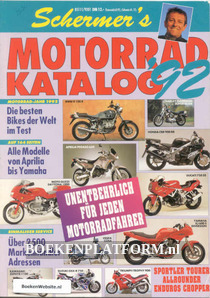 Motorrad katalog '92