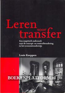 Leren voor transfer