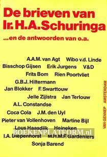 De brieven van Ir. H.A. Schuringa