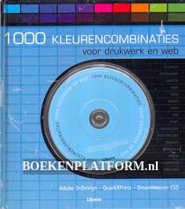 1000 kleurencombinaties voor drukwerk en web