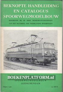 Beknopte handleiding en catalogus spoorwegmodelbouw