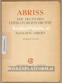 Abriss der Deutschen Literatur