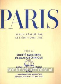 Paris, album realise pas les editions 'Tel'