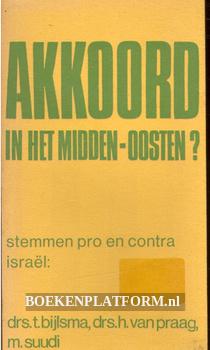 Akkoord in het Midden-Oosten?