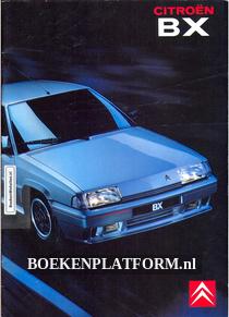 Citroen BX 1990 brochure