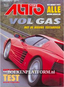 Autovisie 1992 Complete jaargang