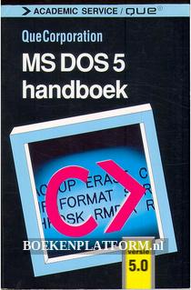 MS DOS 5 handboek