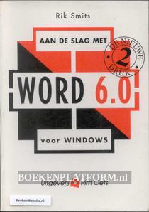 Aan de slag met Word 6.0 voor Windows
